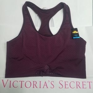 {NWT} Pink | Ultimate Racerback Sports Bra large